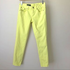J Crew Toothpick Garment Dyed Jeans • size 27